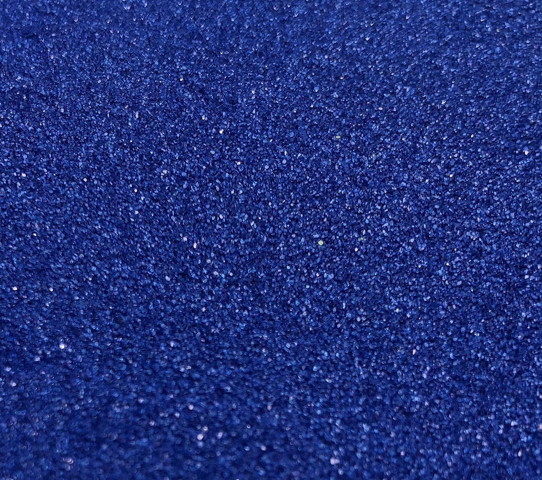CRYSTAL KING 2, 5kg di sabbia Decorativa colore sabbia blu scuro blu Streudeko Sabbia per decorare cobald Blu streusand diffusa granulato 2500G 2, 5kg granulato tavolo edeko