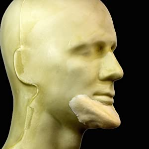 Rubber Wear Foam Latex Prosthetic - Elongated Chin FRW-121 - Makeup and Theater FX