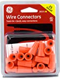 GE 18151 Twist-On Wire Connectors, Orange