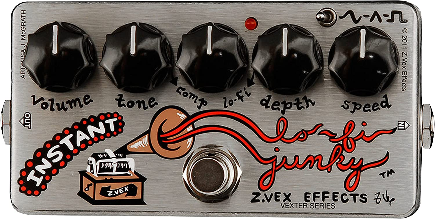 Z.VEX ZVex Effects Pedal INSTANT LO-FI JUNKY VEXTER Brand New in Box