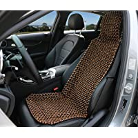 EXCEL LIFE Natural Wood Beaded Seat Cover Massaging Cool Cushion for Car Truck. Keeps The Back From Getting Sweaty While…