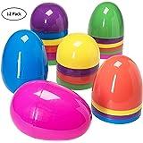 Jumbo 7 Inch Assorted Colors Easter Eggs -12pk.