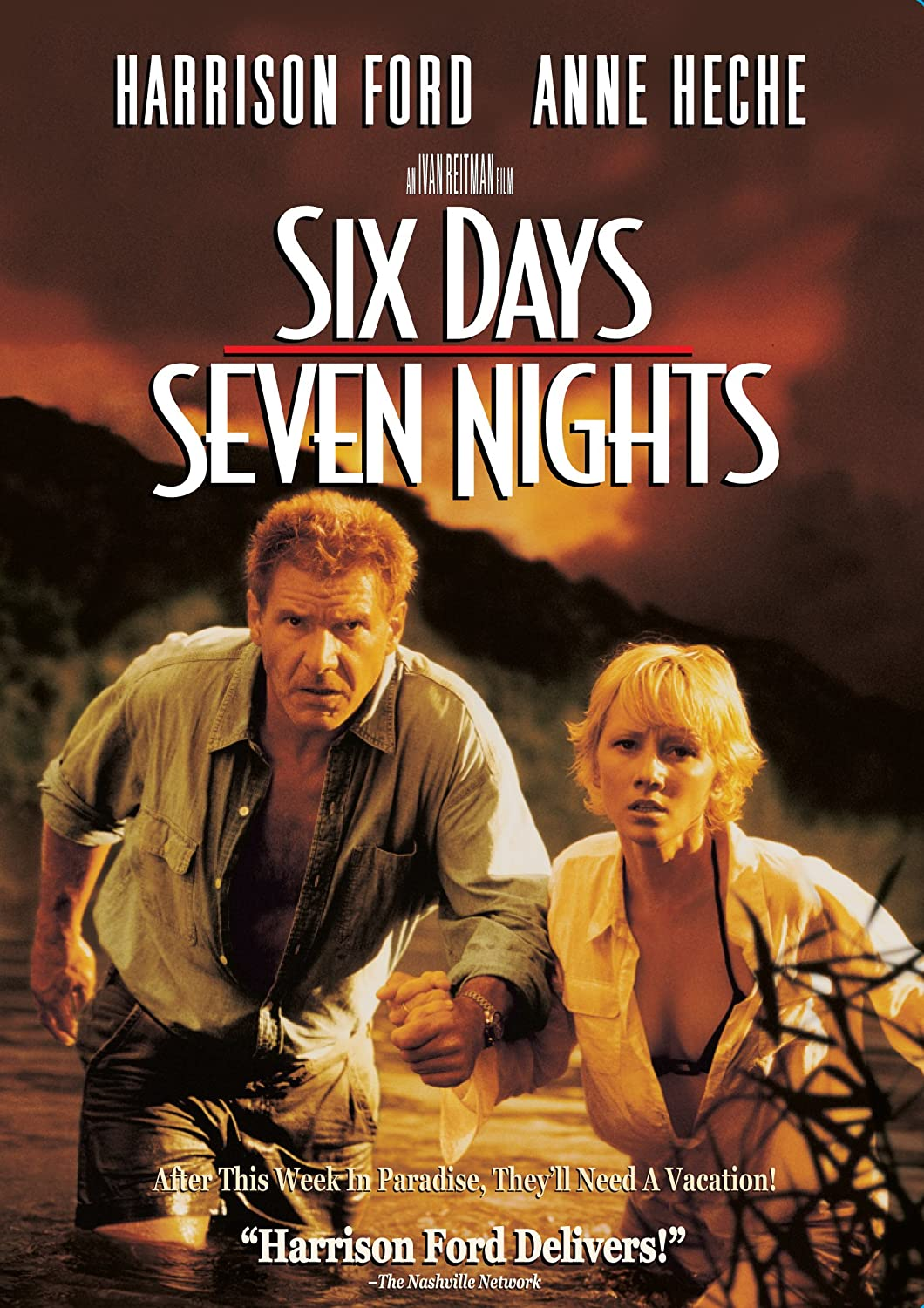 Six Days, Seven Nights (Widescreen) Harrison Ford Anne Heche David Schwimmer Jacqueline Obradors