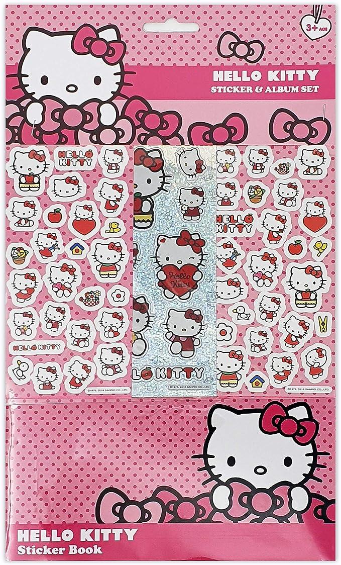 Hello Kitty Sticker Album 6 Sheets Küche Haushalt