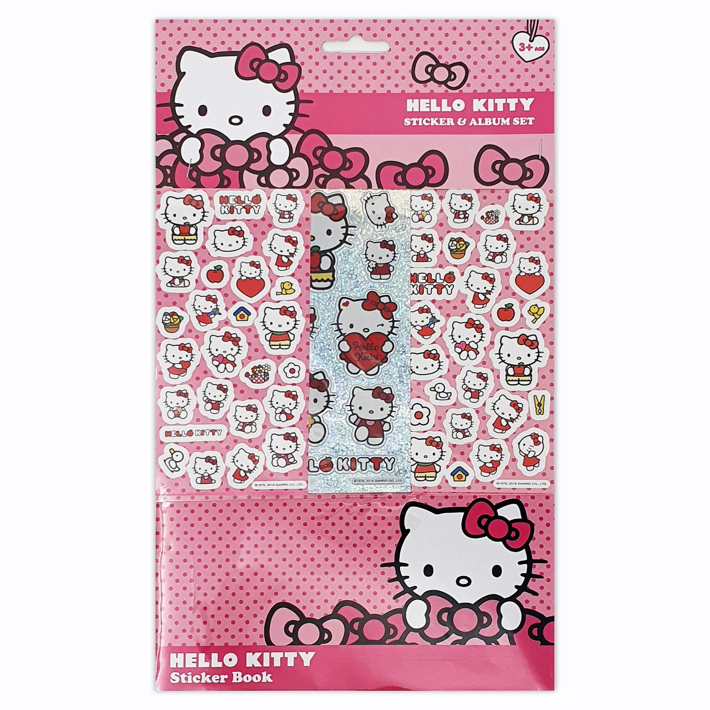Hello Kitty Sticker Album 6 Sheets