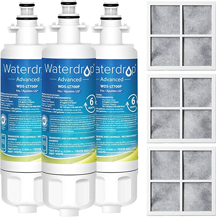 Top 6 Waterdrop Lt500p Replacement For Lg Lt500p
