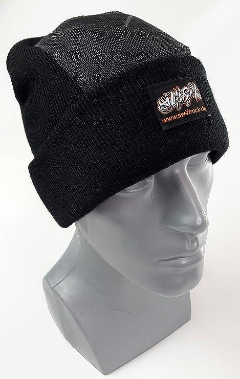 SR Rocking Gear - Swift Rock Classic Headspin Beanie - nero  Amazon ... ede83b059b1e