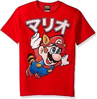 Nintendo Boys Super Mario Tanooki Mario Away Graphic T-Shirt