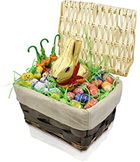 Amazon easter candy peeps yellow marshmallow bunnies 8 ct packs gift universe lindt easter gift basket lindt easter gold bunny 7 ounce and lindt negle Image collections