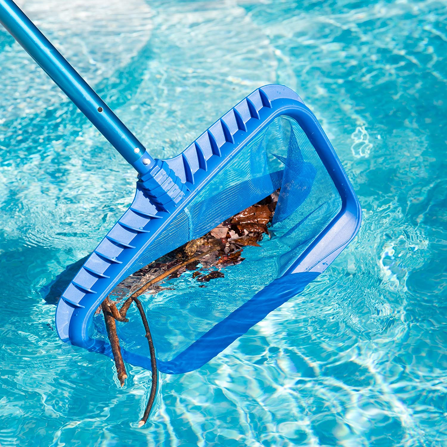 Swimming Pool Skimmer Mesh Net Leaf Rake Tools