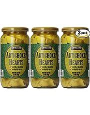 Kirkland Signature Artichoke Hearts, 33oz Jar (Pack of 3, Total of 99 Oz)