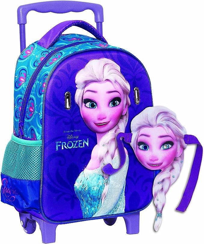 48 cm Karactermania Frozen La Reine des Neiges Smile Basic Sac /à Dos Loisir 18.2 litres Multicolour