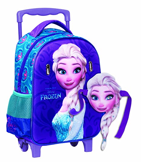 91e5c073ec GIM - 341 - 62072 - Trolley - Elsa - Cartella a rotelle - Frozen ...