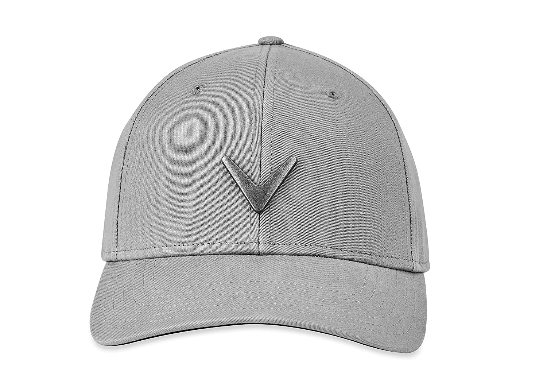 2a462a45f Amazon.com : Callaway Golf 2019 Metal Icon Hat, Charcoal : Sports ...