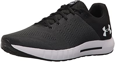 497c3c70f9 Under Armour Herren Micro G Pursuit Laufschuhe, Schwarz  (Anthracite/Black/White 102
