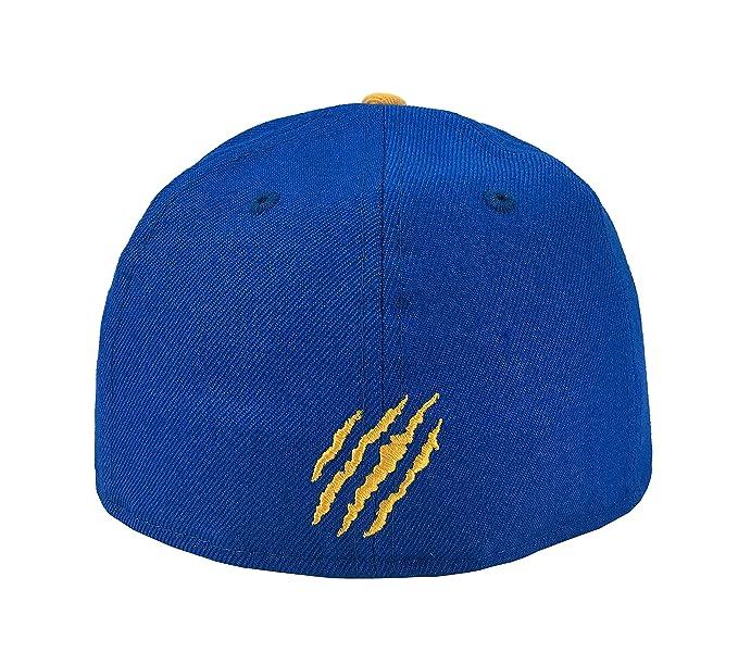 New Era 59Fifty Hat Tigres De Monterrey Soccer Club Mexican League Blue/Gold Cap at Amazon Mens Clothing store: