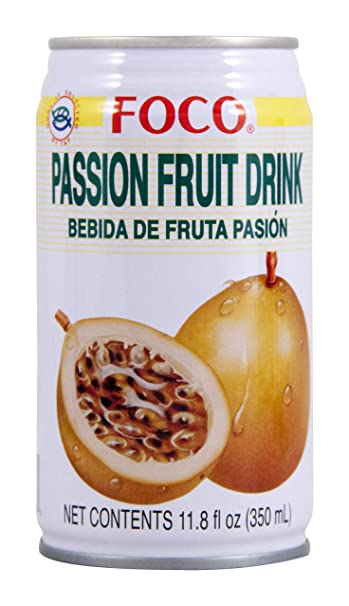 amazon com foco passion fruit juice 12 oz can grocery gourmet food rh amazon com