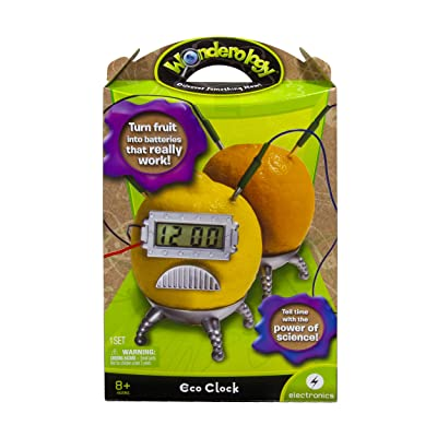Wonderology – Science Kit – Eco Clock: Toys & Games