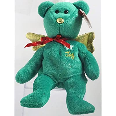 TY Beanie Baby - GIFT the Bear (Green Version) (Hallmark Gold Crown Exclusive): Toys & Games [5Bkhe1107010]