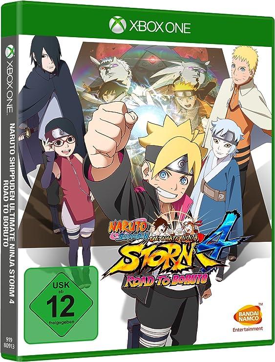 Naruto Shippuden Ultimate Ninja Storm 4: Road To Boruto [Importación Alemana]: Amazon.es: Videojuegos