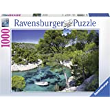 Ravensburger - 19632 - Puzzle Les calanques de Cassis - 1000 pièces