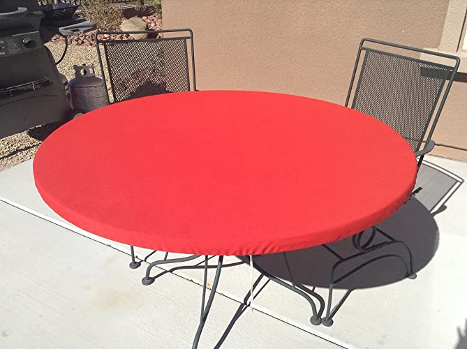 Round Elastic Tablecloth