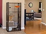 IRIS 3-Tier Cat Condo, Brown