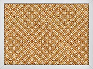 Wall Pops Tambour Printed Cork Board