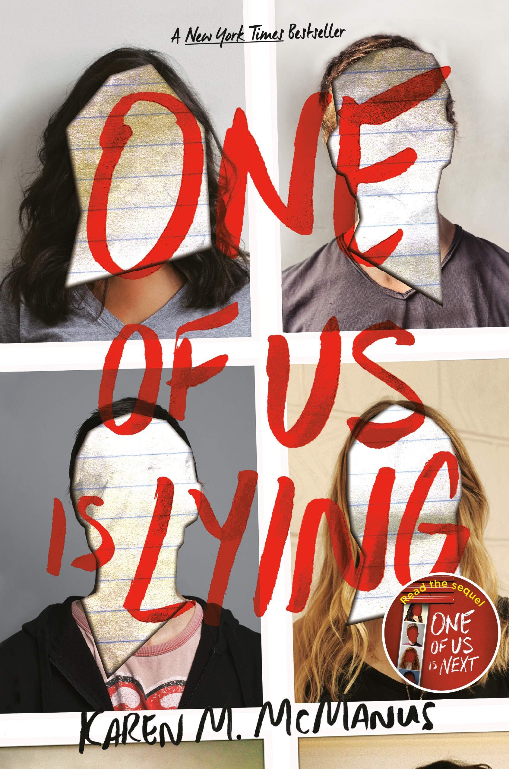 Image result for one of us is lying book cover