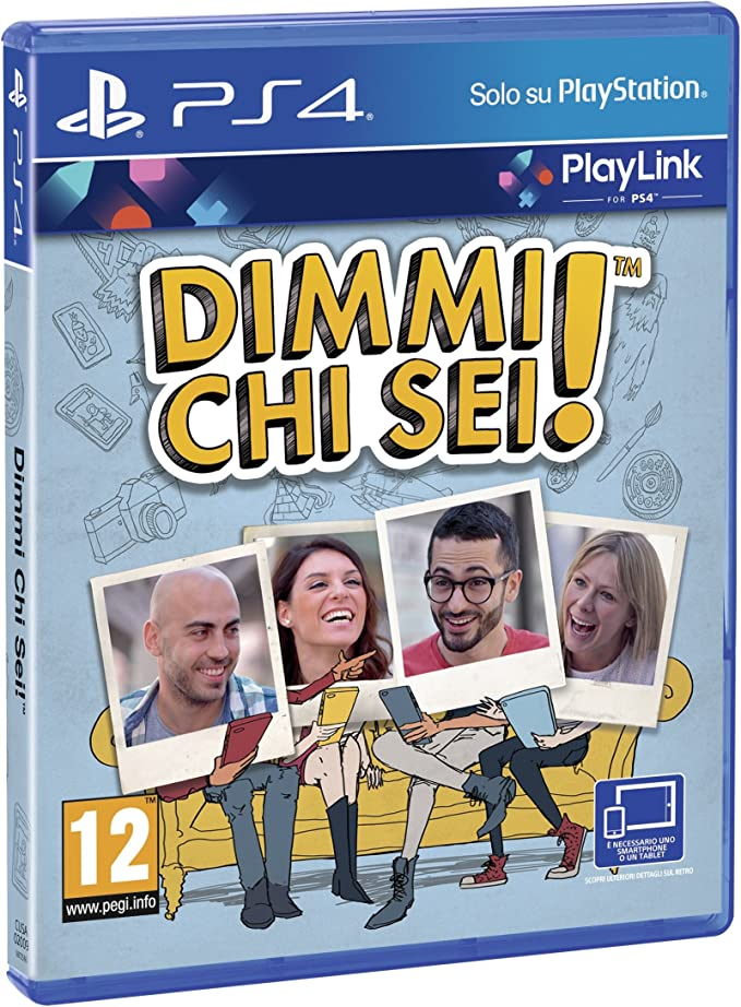 Dimmi Chi Sei! - PlayStation 4 [Importación italiana]: Amazon.es ...