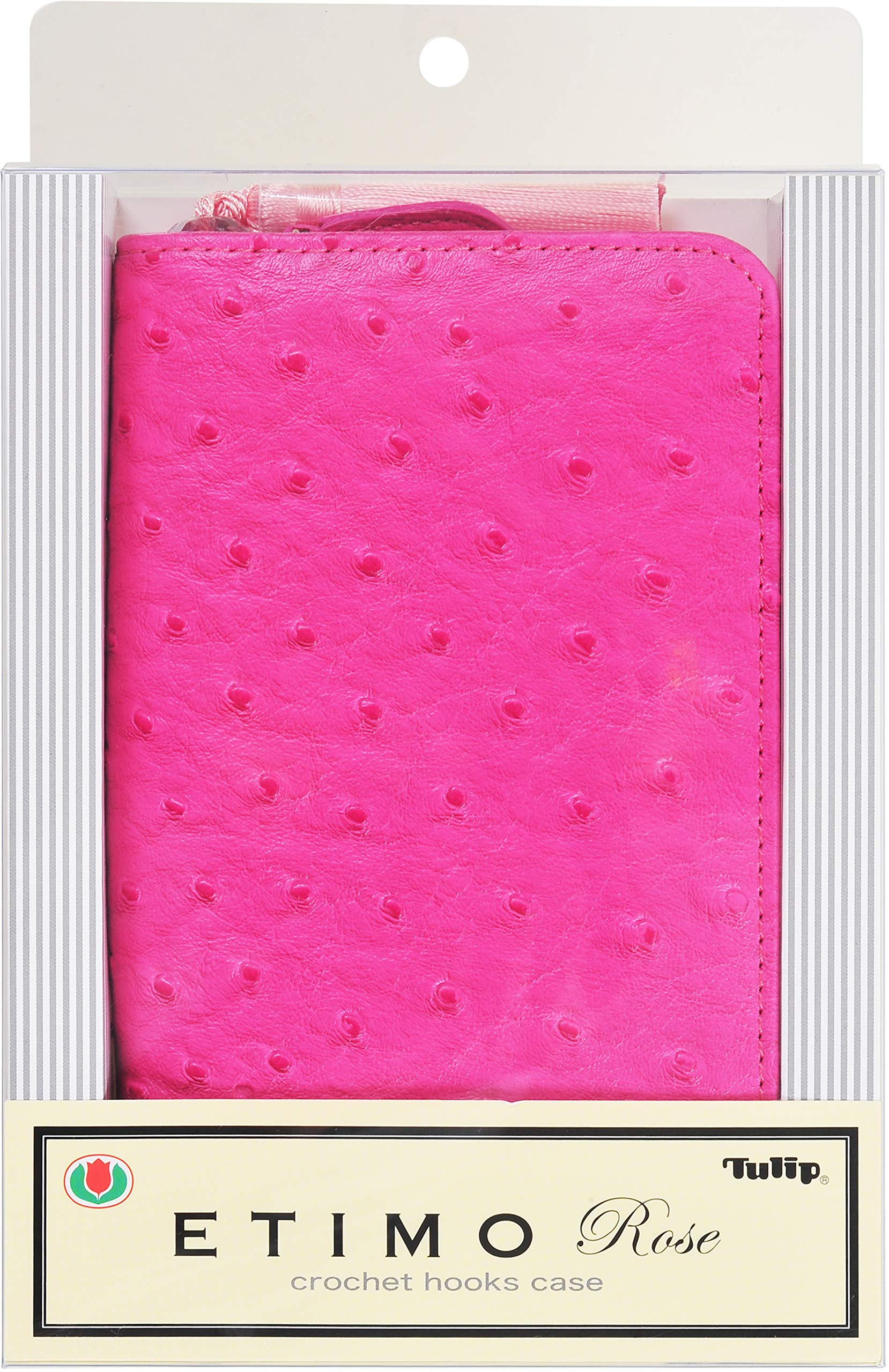 Tulip Needle Company TER-13E Tulip Etimo Rose Crochet Hook Set & Case W/Tassel