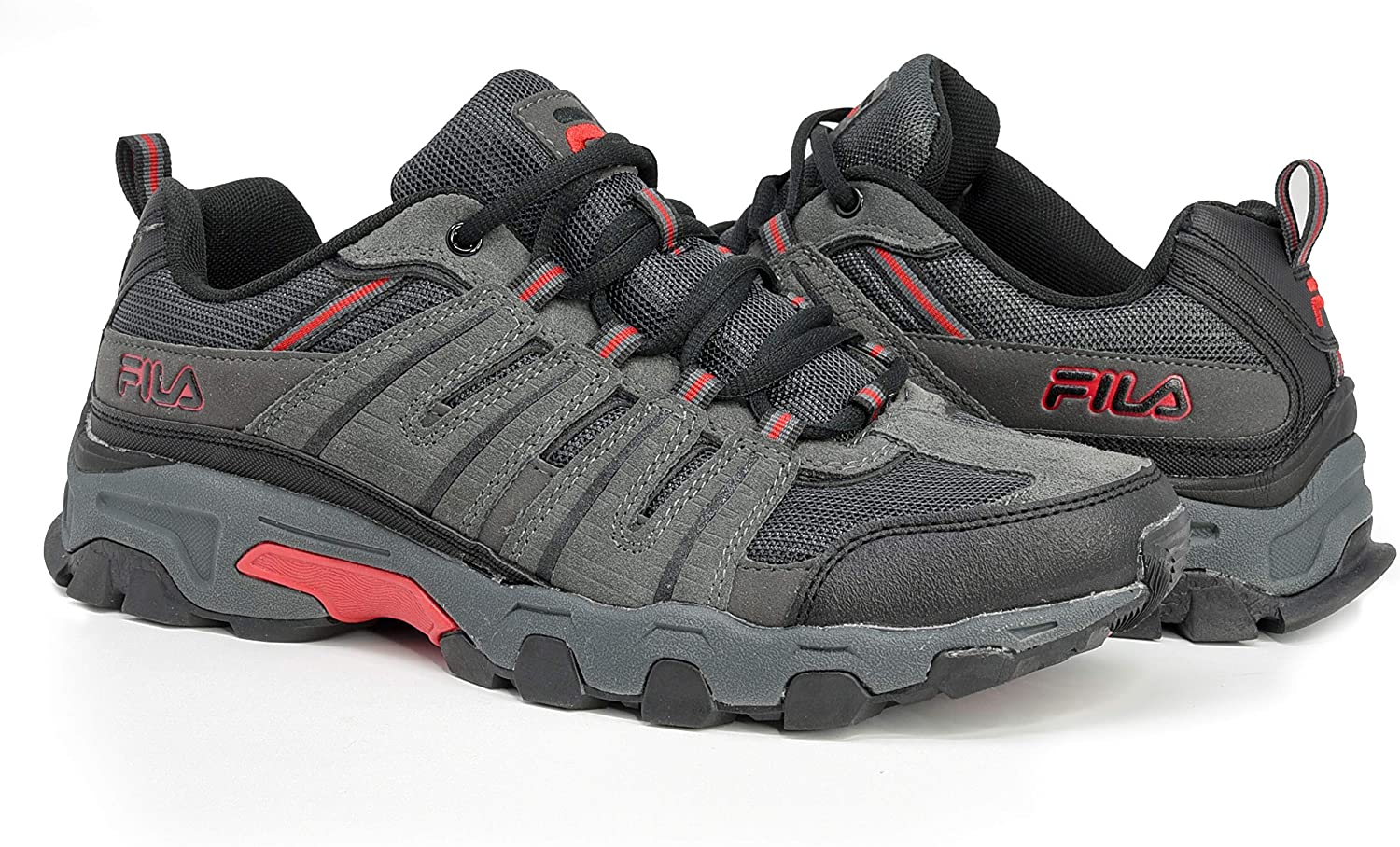 Fila Men s Westmount Trail Running Sneaker EVA Comfort Footbed Shoe