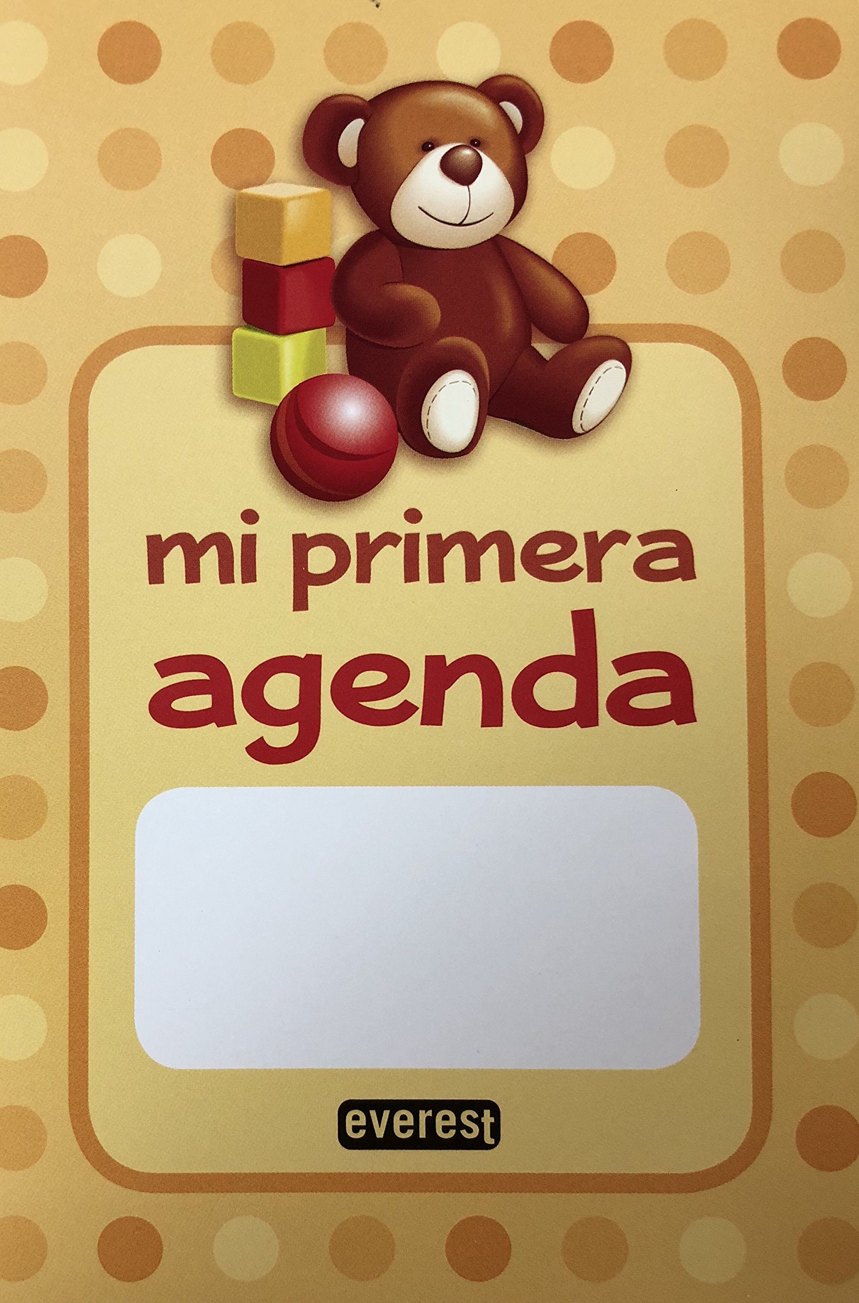 MI PRIMERA AGENDA EVEREST: 8432504029829: Amazon.com: Books