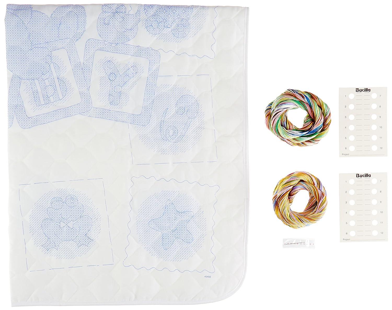 Bucilla Baby Counted Cross Stitch Birth Record Kit 45403 Blocks