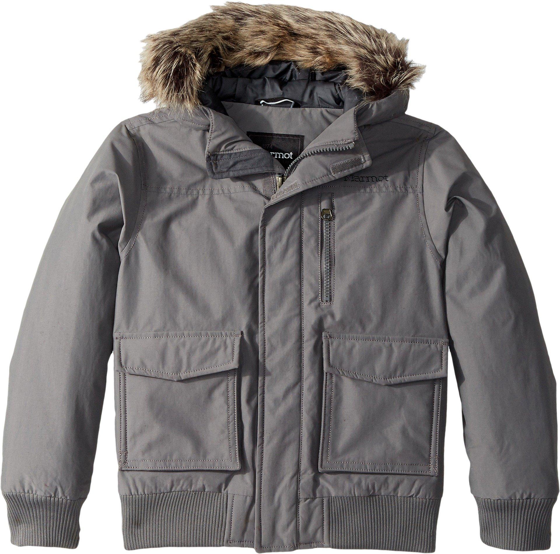 Marmot Kids Boy's Stonehaven Jacket (Little Kids/Big Kids) Cinder Large