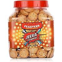Feasters Jeera Crackers Jar, 250g