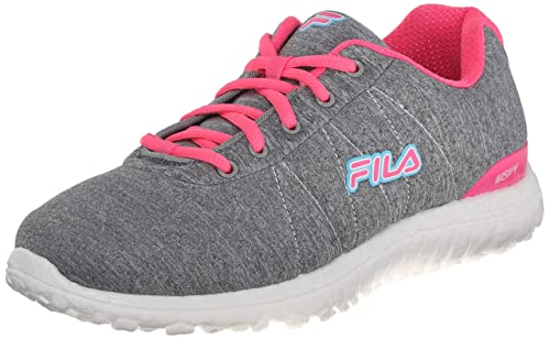 Fila Namella - Zapatillas de Entrenamiento para Mujer, Gris (Blanco, Rosado (Monument/Knock out Pink/White)), 8.5 B(M) US: Amazon.es: Zapatos y complementos