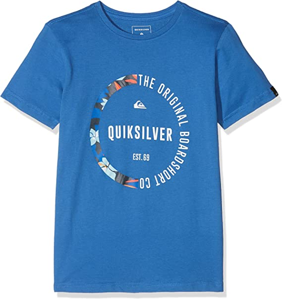 Quiksilver Classic Revenge, Camiseta para Niños, Azul (Bright Cobalt), M/12: Quiksilver: Amazon.es: Ropa y accesorios