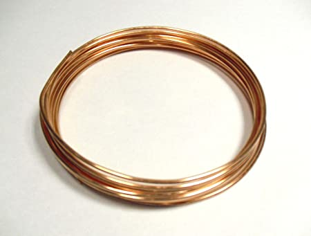 COPPER WIRE BARE UNCOATED UNPLATED - 500grams - 12 gauge 2mm ...