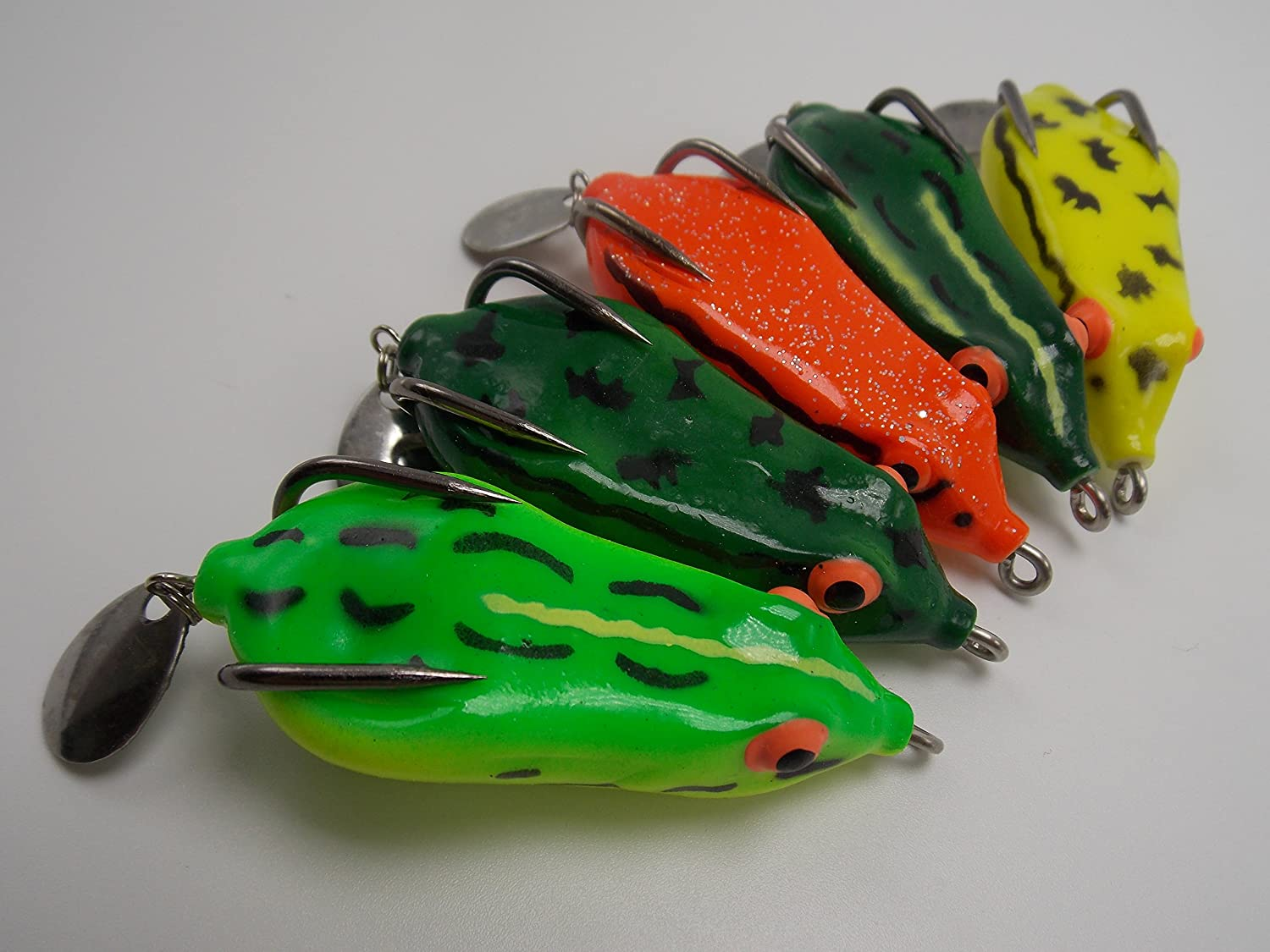 3pcs Inner shaky head jig 3D soft sculpin lures 0.42oz