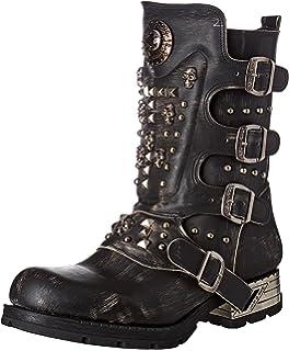 M-7950-S1, Santiags Homme, Noir (Black), 45 EUNew Rock