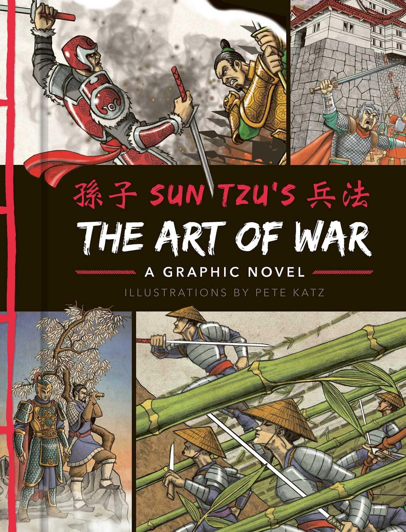 amazon the art of war a graphic novel sun tzu pete katz
