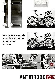 Candado y soporte antirrobo de pared para bicicletas bikeTRAP de ...