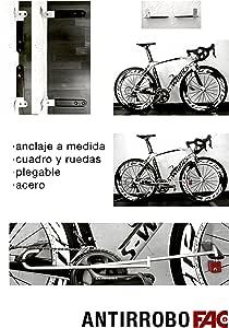 Antirrobo Bicicleta Pared: Amazon.es: Deportes y aire libre