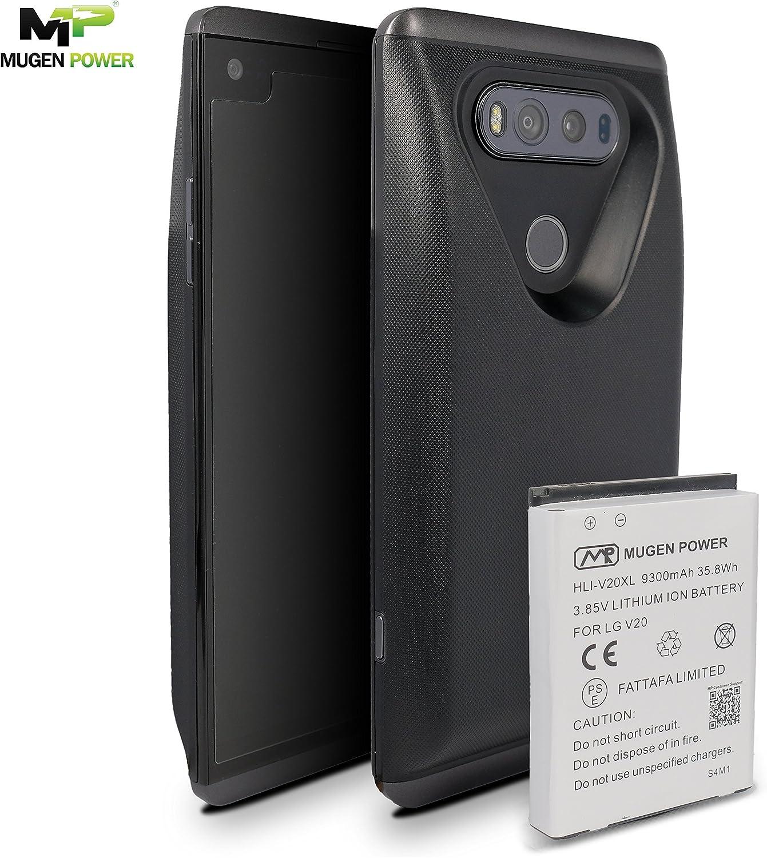 LG V20 batería extendida 9300mAh Mugen Power | Cubierta de batería ...