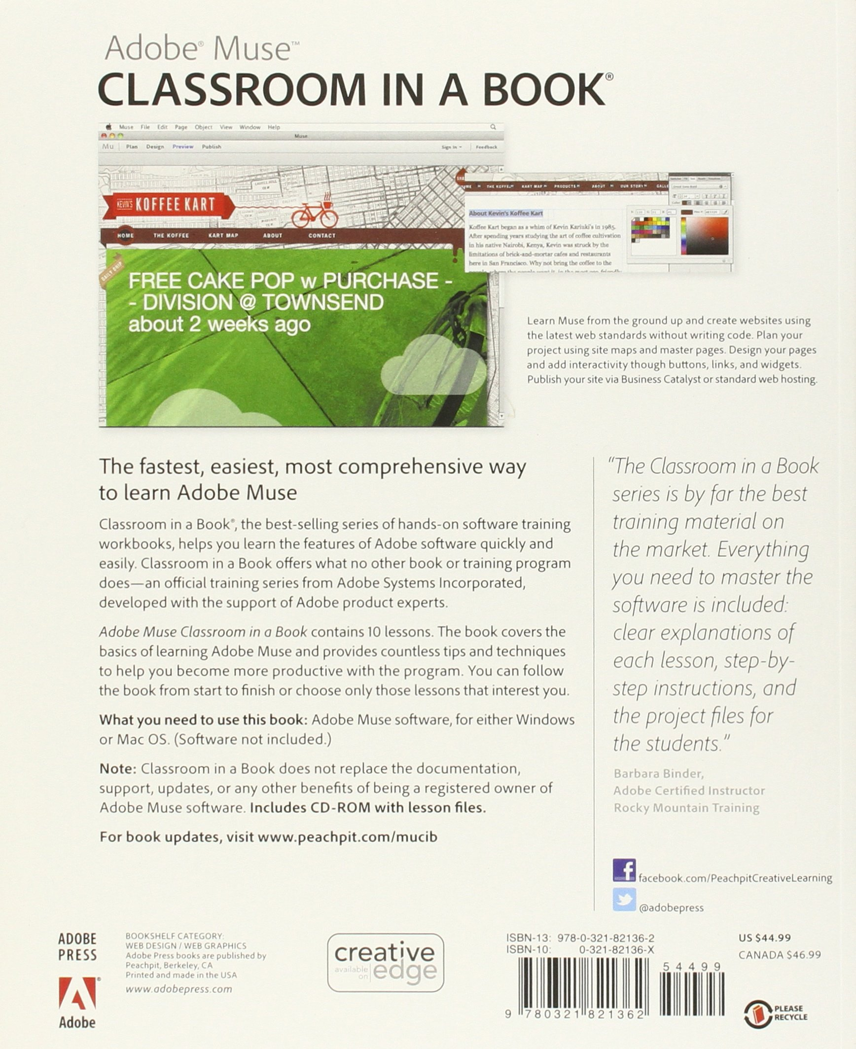 Adobe Muse Classroom In A Book Lesson Files