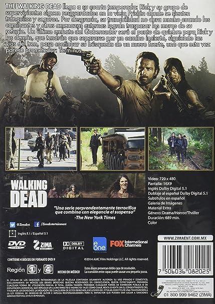 Amazon.com: The Walking Dead Cuarta Temporada en DVD: Movies ...