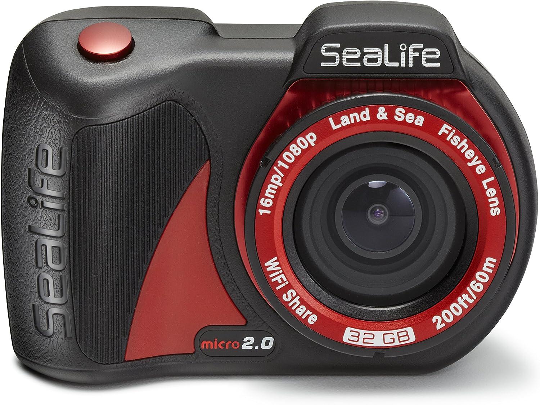 SeaLife 35.100.001 Micro 2.0 32 GB cámara subacuática: Amazon.es ...