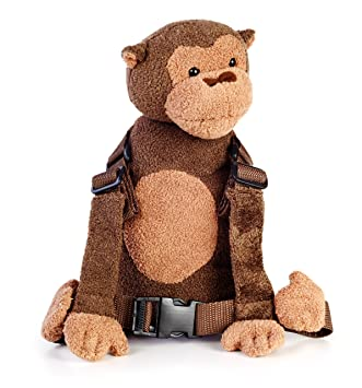 Amazon.com : Goldbug Animal 2 in 1 Harness - Monkey : Toddler Safety