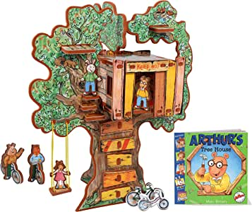 STORYTIME TOYS Arthur's Tree House 3D Puzzle - Book and Toy Set - 3 in 1 - Book, Build, and Play